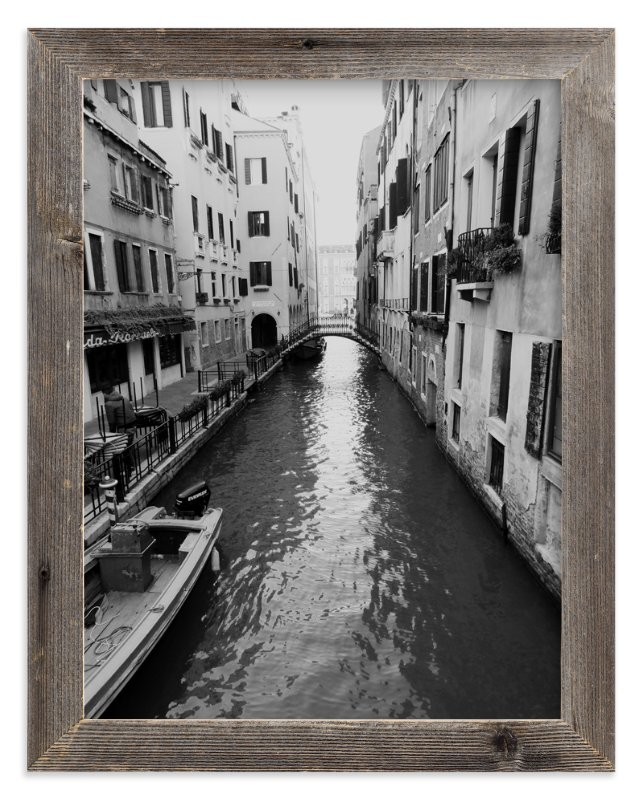 """Quiet Canal"" - Limited Edition Art Print by Amanda Radziercz in beautiful frame options and a variety of sizes."