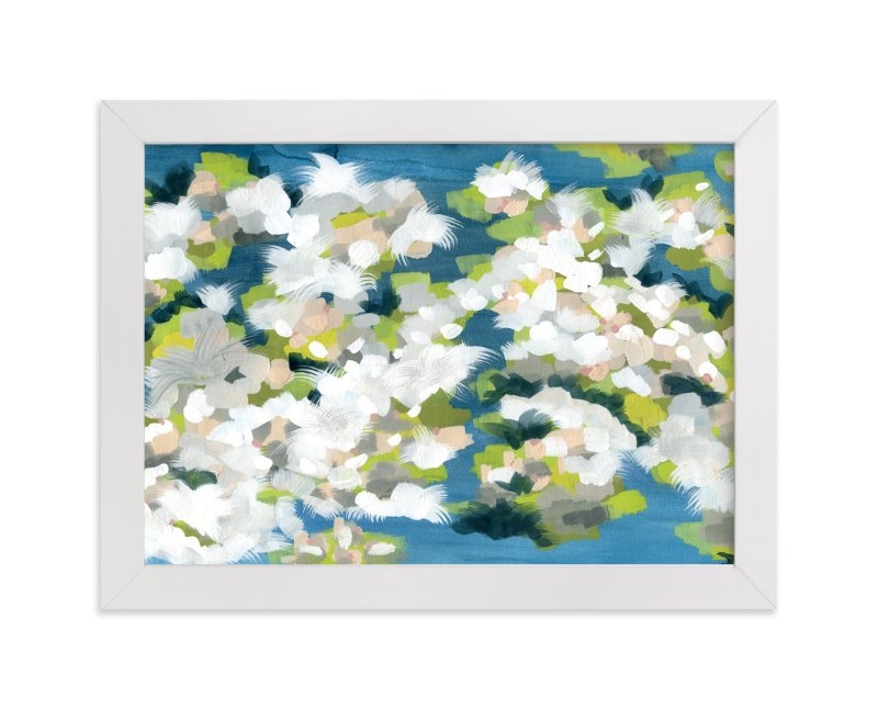 """""""Verdant"""" - Limited Edition Art Print by Denise Wong in beautiful frame options and a variety of sizes."""
