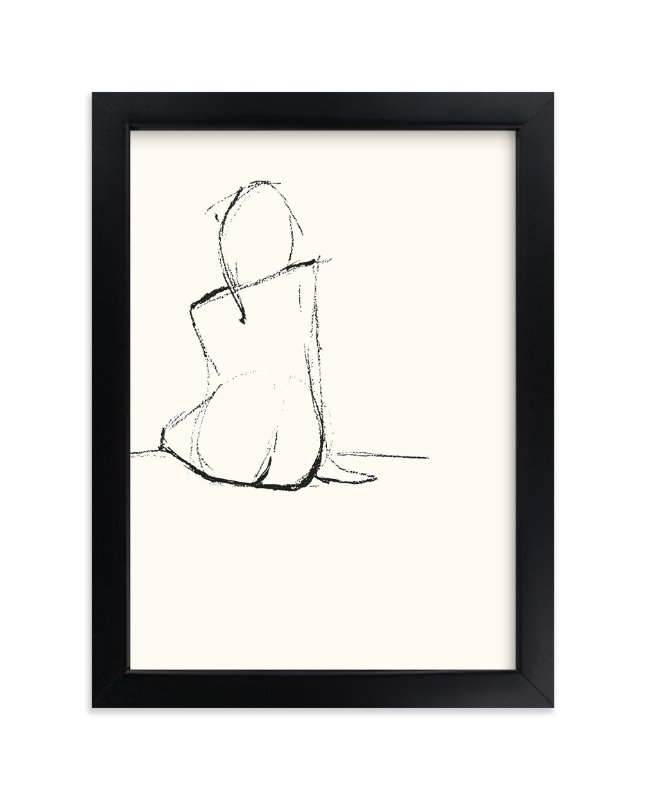 """Composed"" - Limited Edition Art Print by Amelie Conger in beautiful frame options and a variety of sizes."