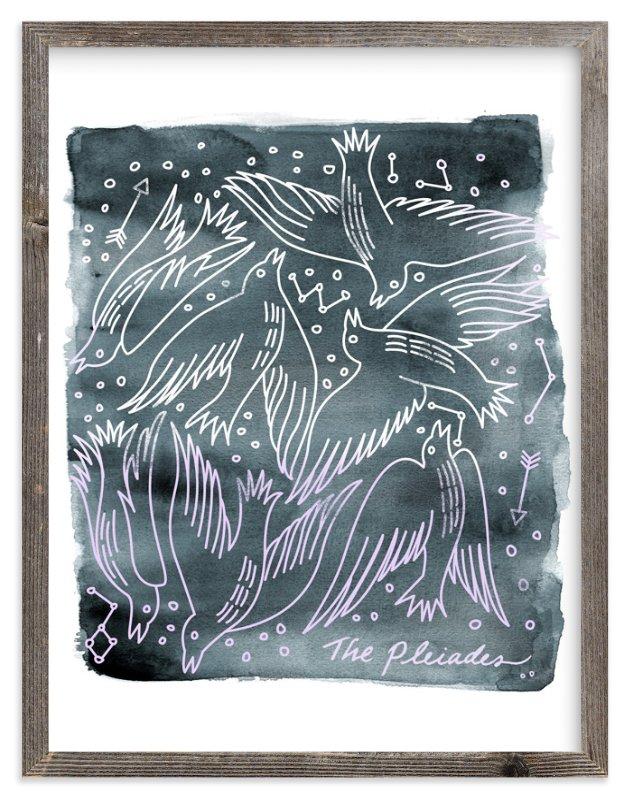 """""""The Pleiades"""" - Limited Edition Art Print by Eve Schultz in beautiful frame options and a variety of sizes."""