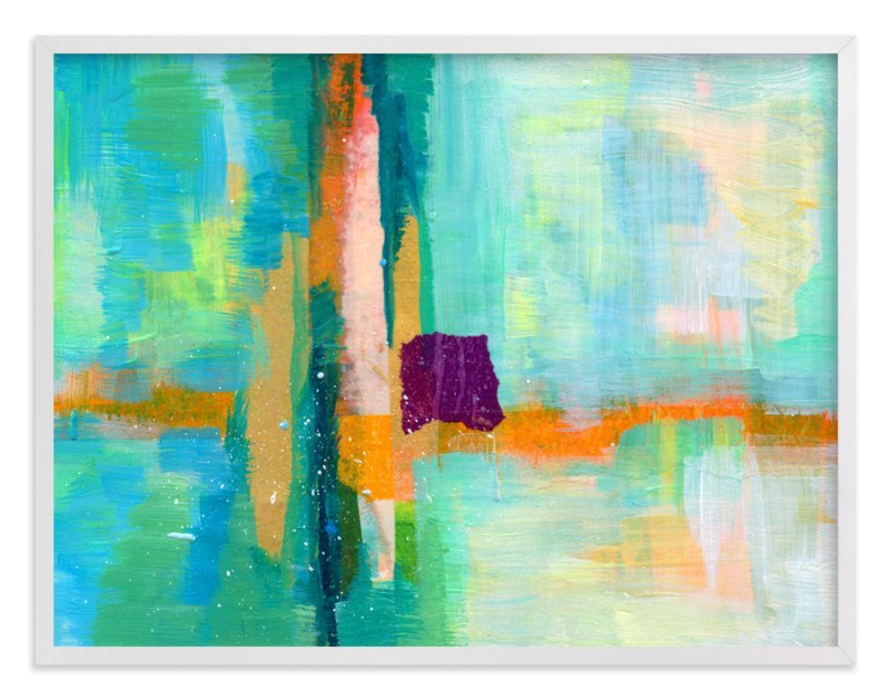 """""""Landscape Study III"""" - Limited Edition Art Print by Laura Bolter Design in beautiful frame options and a variety of sizes."""