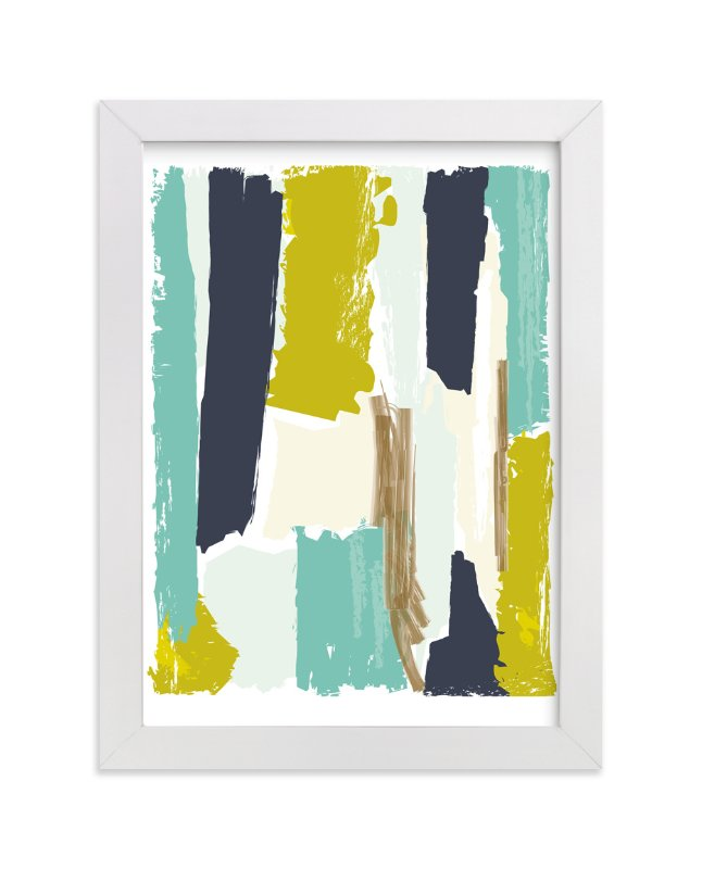"""""""Color Study Two"""" - Limited Edition Art Print by Karidy Walker in beautiful frame options and a variety of sizes."""
