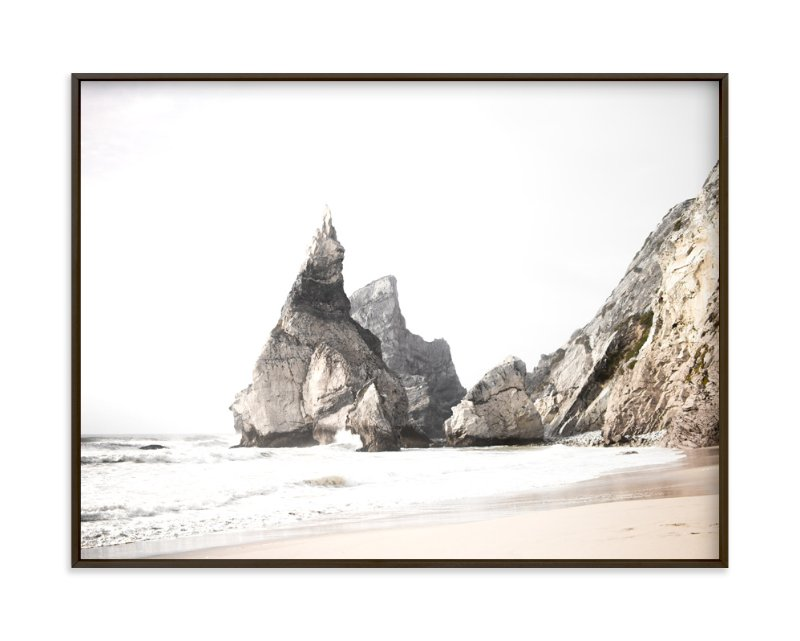 """Praia da Ursa"" - Limited Edition Art Print by Hi Uan Kang Haaga in beautiful frame options and a variety of sizes."
