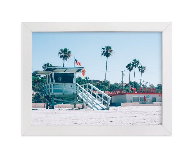 """Zuma Beach Malibu No. 3"" - Limited Edition Art Print by Kamala Nahas in beautiful frame options and a variety of sizes."