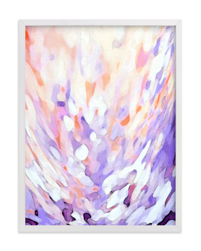 """Petals"" - Limited Edition Art Print by Grace Kreinbrink in beautiful frame options and a variety of sizes."