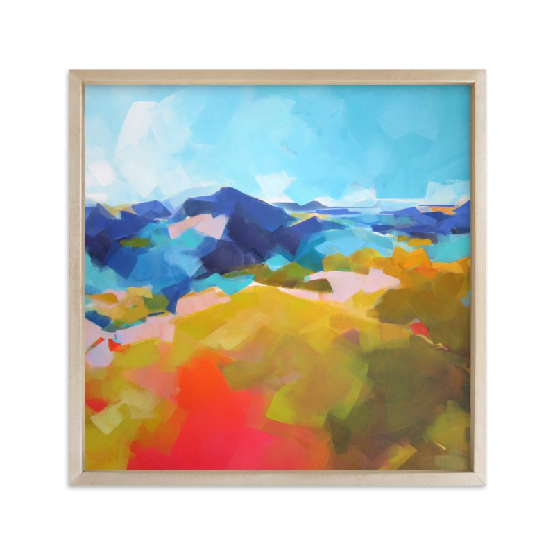 """Blue Ridge"" - Limited Edition Art Print by Jess Franks in beautiful frame options and a variety of sizes."