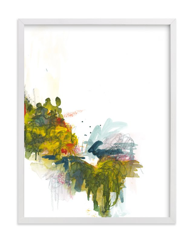 """""""Princeton Springs - Day 60"""" - Limited Edition Art Print by Kathryn Neale in beautiful frame options and a variety of sizes."""