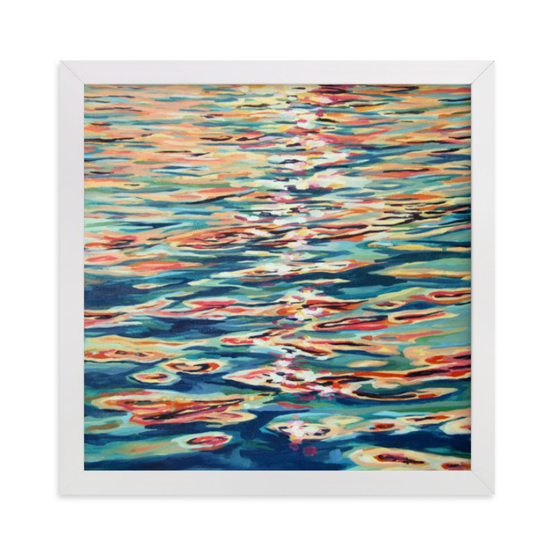 """""""Rift"""" - Limited Edition Art Print by Kelly Johnston in beautiful frame options and a variety of sizes."""
