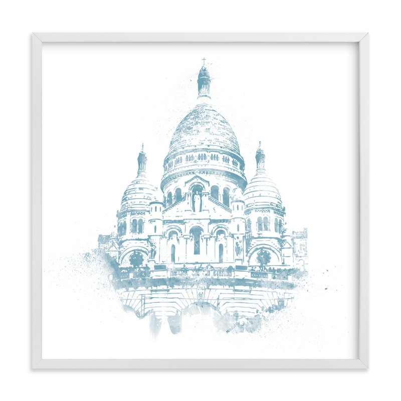 """Sacre Coeur"" - Limited Edition Art Print by Paul Berthelot in beautiful frame options and a variety of sizes."
