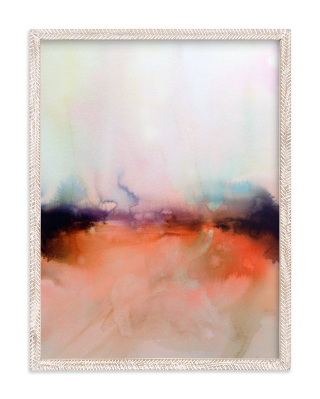 """Abstract Lands Series : Fields 4"" - Limited Edition Art Print by Marta Spendowska in beautiful frame options and a variety of sizes."