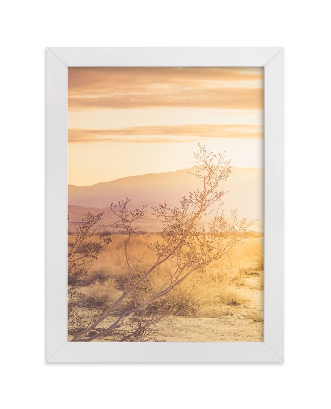 """Desert Roadtrip"" - Limited Edition Art Print by Lisa Sundin in beautiful frame options and a variety of sizes."