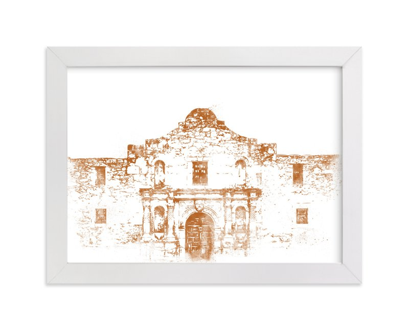 """The Alamo"" - Limited Edition Art Print by Paul Berthelot in beautiful frame options and a variety of sizes."