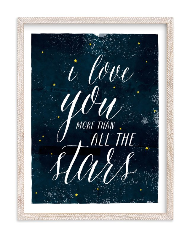"""Stargaze"" - Limited Edition Art Print by Shirley Lin Schneider in beautiful frame options and a variety of sizes."