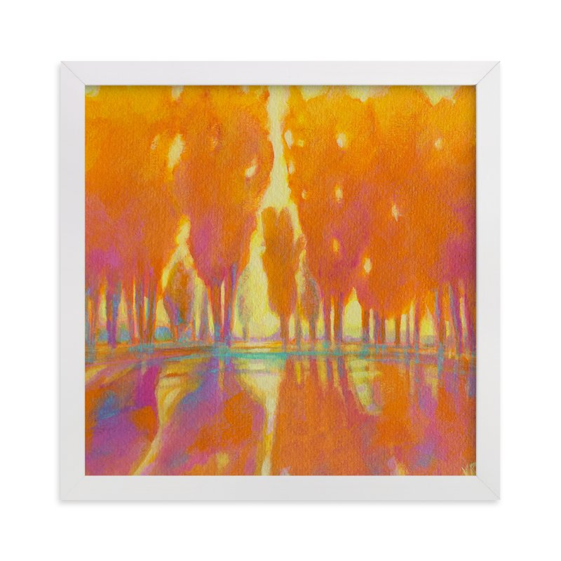 """""""Golden Hour"""" - Limited Edition Art Print by Vicki Rawlins in beautiful frame options and a variety of sizes."""