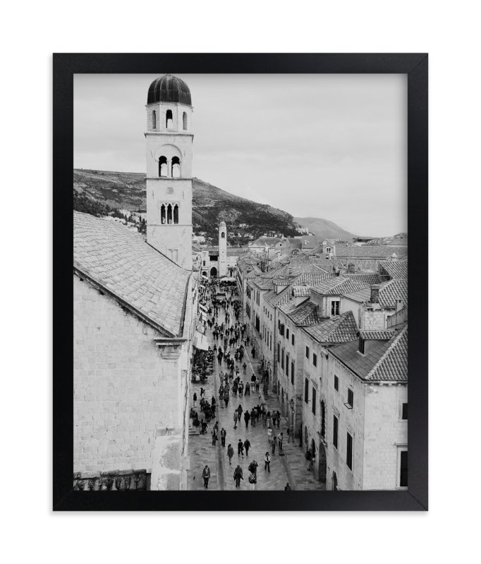 """""""Dubrovnik"""" - Limited Edition Art Print by The Rad Life Adventures in beautiful frame options and a variety of sizes."""