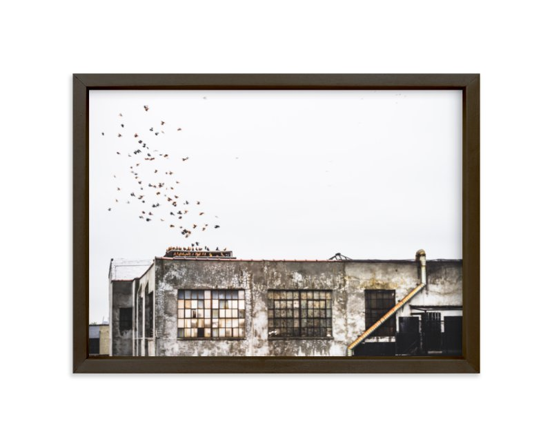 """Brooklyn"" - Limited Edition Art Print by Kaitlin Rebesco in beautiful frame options and a variety of sizes."