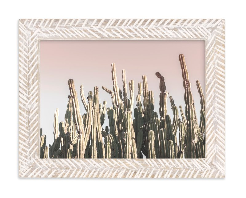 Summer Cactus Wall Art Prints by Wilder California | Minted