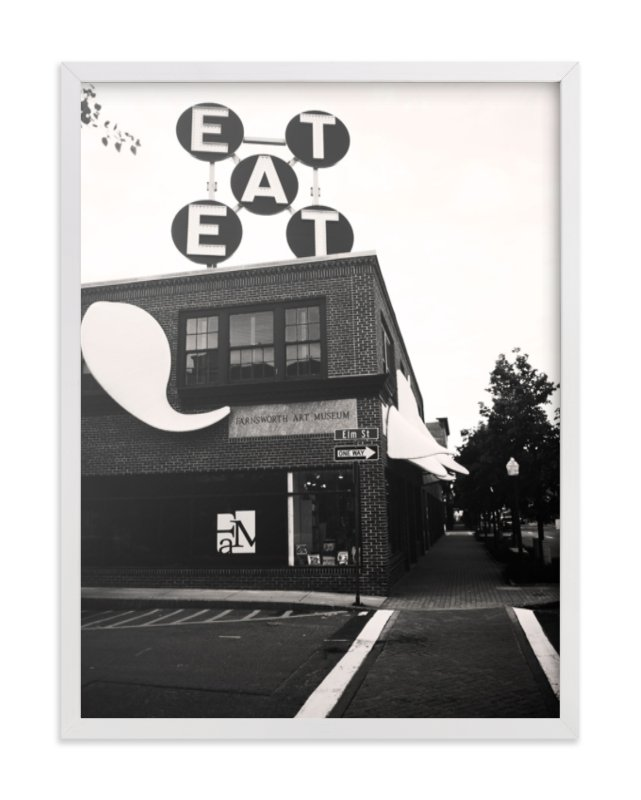 """urban eats"" - Limited Edition Art Print by R studio in beautiful frame options and a variety of sizes."