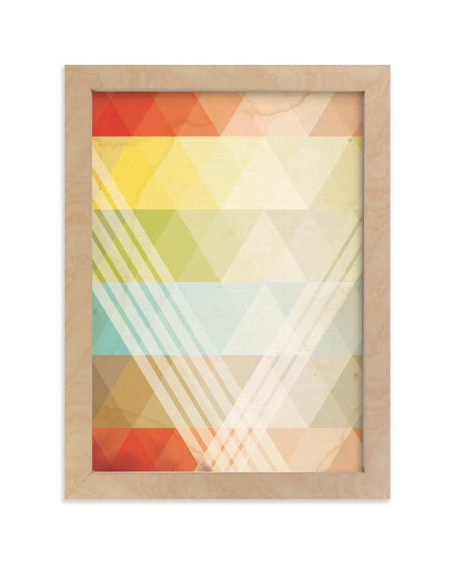 """""""Intersection"""" - Limited Edition Art Print by Jennifer Morehead in beautiful frame options and a variety of sizes."""