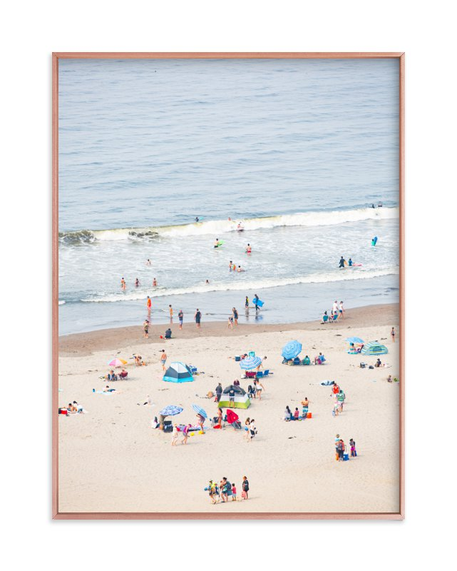 """Stinson Beach"" - Limited Edition Art Print by Colette Robinson in beautiful frame options and a variety of sizes."