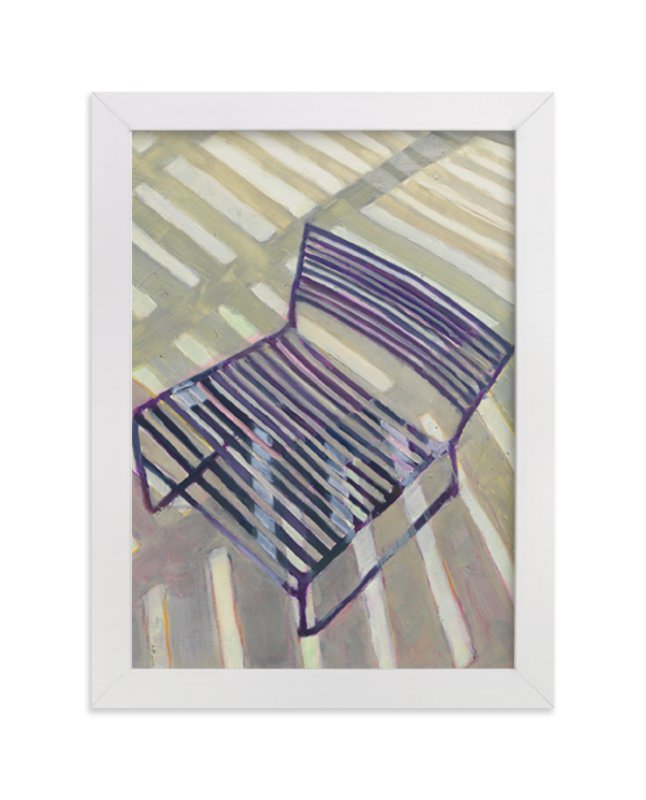 """Chair from my Childhood"" - Limited Edition Art Print by Caitlin Winner in beautiful frame options and a variety of sizes."