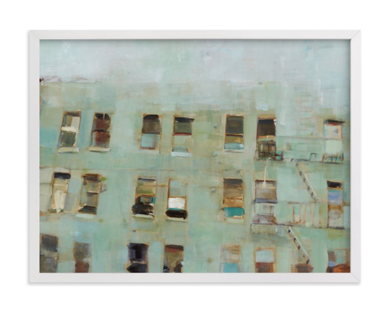 """""""Windows"""" - Limited Edition Art Print by Hadas Tal in beautiful frame options and a variety of sizes."""