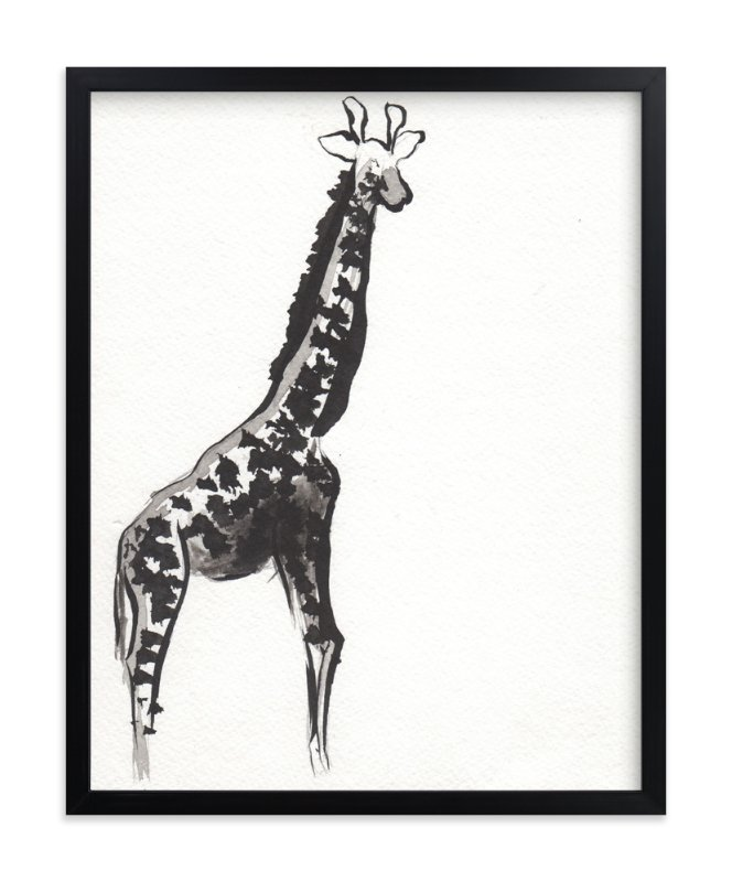 """Simply Curious"" - Limited Edition Art Print by Shawni Hogan in beautiful frame options and a variety of sizes."