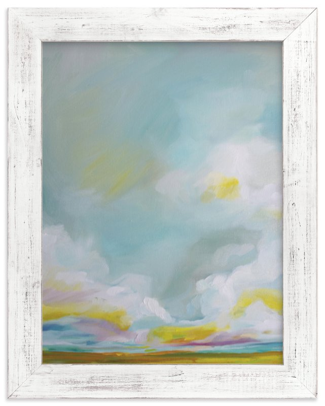 """""""Summering Forever"""" - Limited Edition Art Print by Emily Jeffords in beautiful frame options and a variety of sizes."""