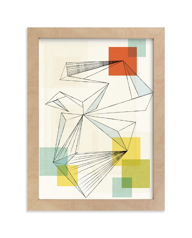 """We are all connected"" - Limited Edition Art Print by Jennifer Morehead in beautiful frame options and a variety of sizes."