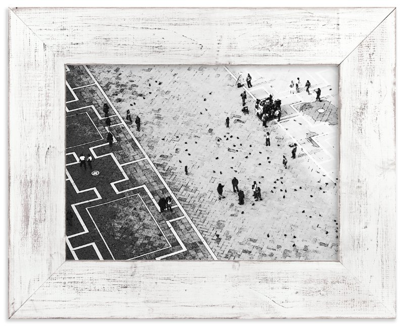 """Scoring through"" - Limited Edition Art Print by van tsao in beautiful frame options and a variety of sizes."