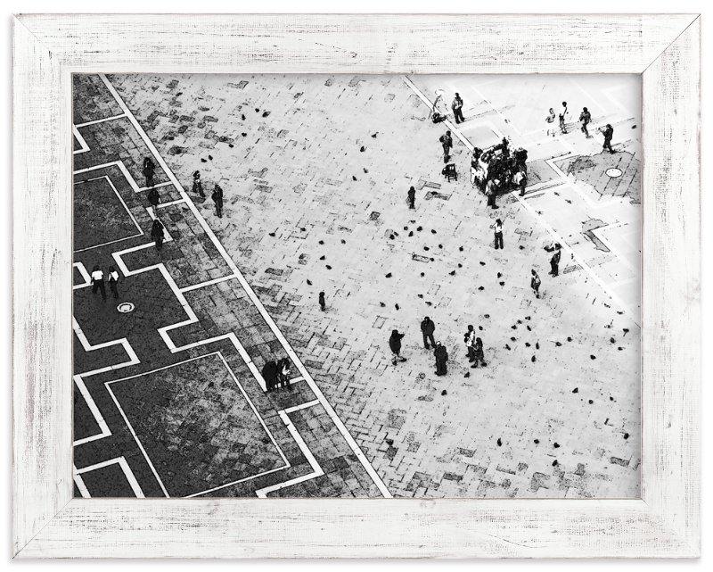 """""""Scoring through"""" - Limited Edition Art Print by van tsao in beautiful frame options and a variety of sizes."""