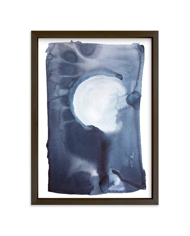 """""""How Dark"""" - Limited Edition Art Print by Shannon Astolfi in beautiful frame options and a variety of sizes."""