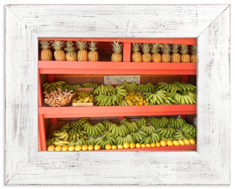 """""""Smoothie Stand"""" - Limited Edition Art Print by Jan Kessel in beautiful frame options and a variety of sizes."""