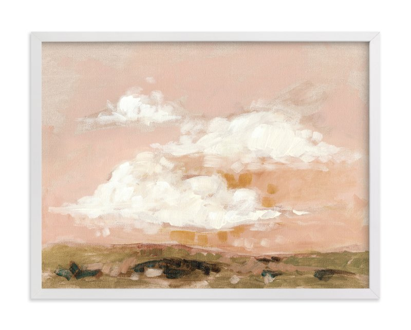 """""""Afterglow"""" - Limited Edition Art Print by Lorent and Leif in beautiful frame options and a variety of sizes."""