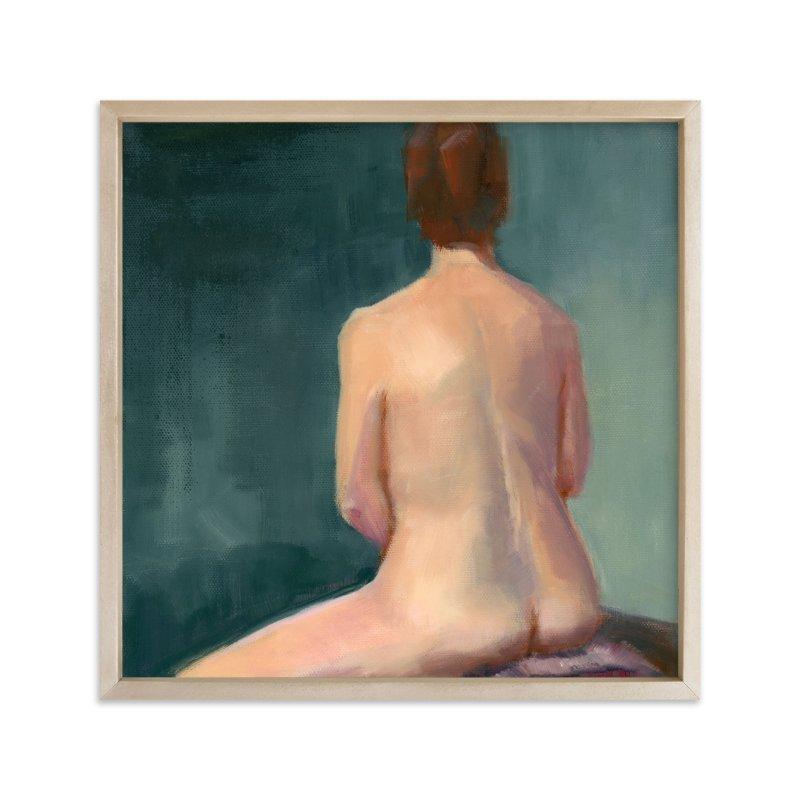 """""""Bath"""" - Limited Edition Art Print by sue prue in beautiful frame options and a variety of sizes."""