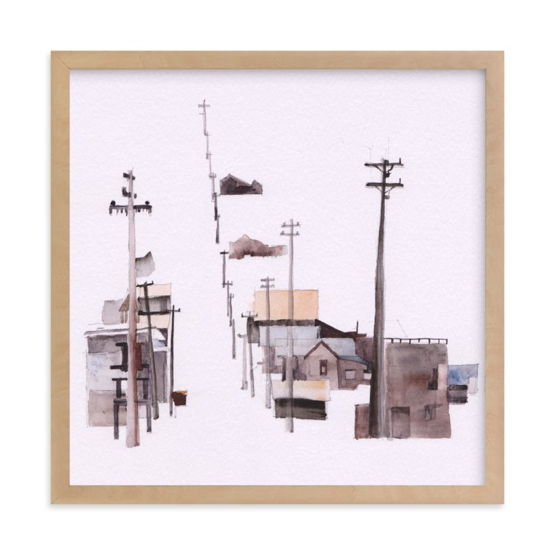 """""""Bodie Ghosttown"""" - Limited Edition Art Print by Viktoria Eperjesi in beautiful frame options and a variety of sizes."""
