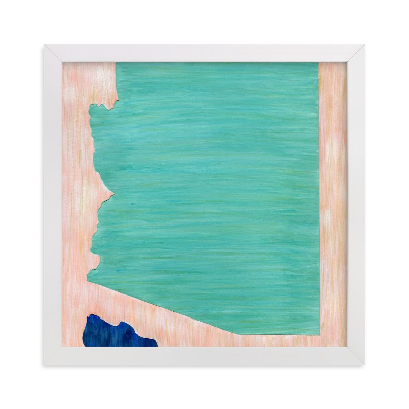 """""""Arizona in Paint"""" - Limited Edition Art Print by Denise Wong in beautiful frame options and a variety of sizes."""