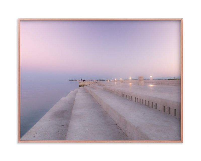 """Sea organ"" - Limited Edition Art Print by MengI Shen in beautiful frame options and a variety of sizes."