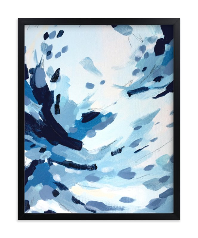 """Quietly like Rain"" - Limited Edition Art Print by Katie Craig in beautiful frame options and a variety of sizes."
