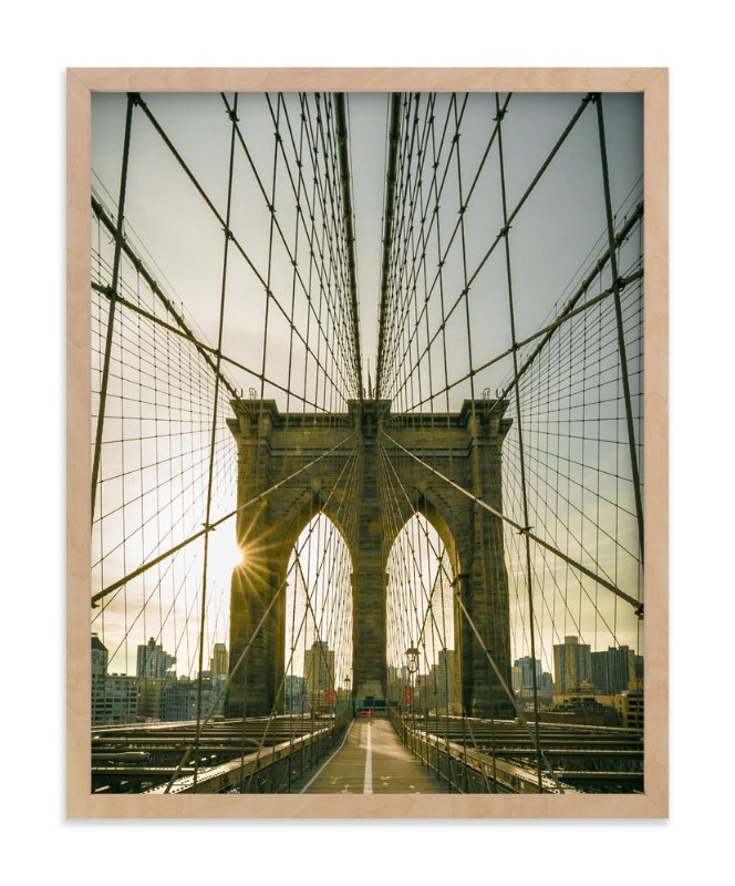 """""""Brooklyn Light"""" - Limited Edition Art Print by Jason Derck in beautiful frame options and a variety of sizes."""