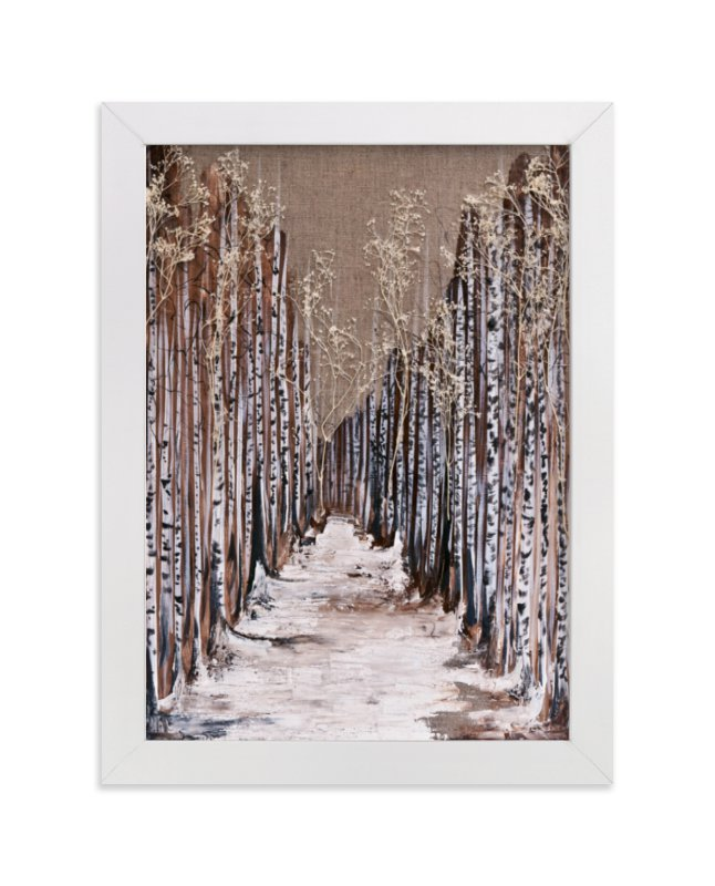 """""""Aspen Grove"""" - Limited Edition Art Print by Emily Magone in beautiful frame options and a variety of sizes."""