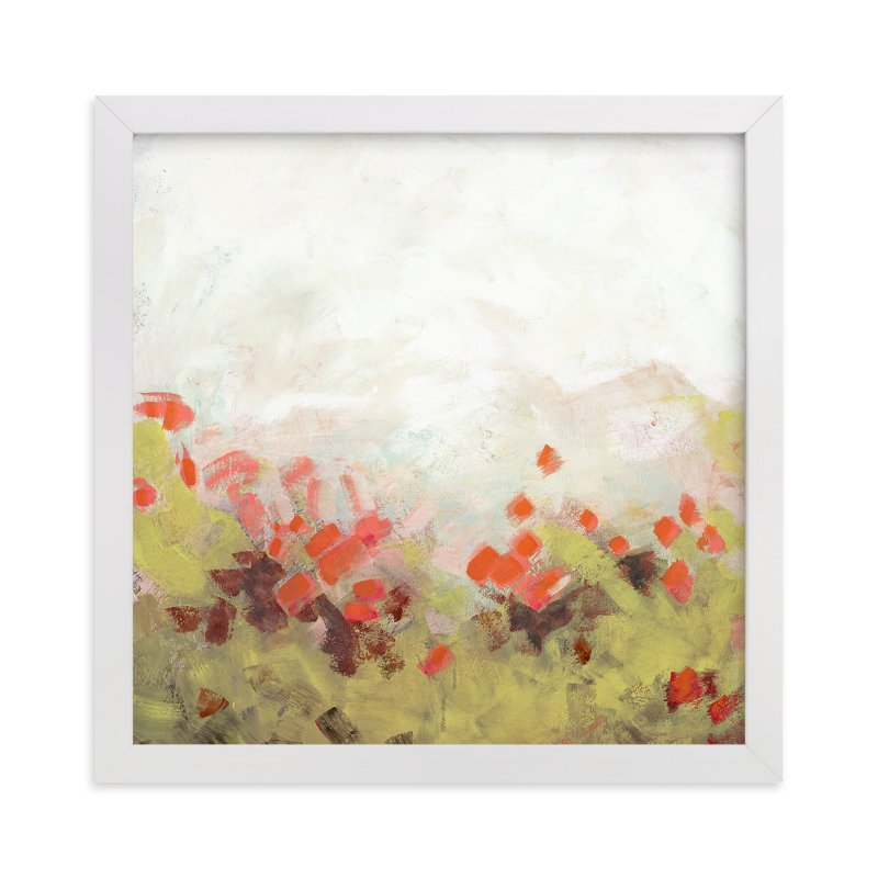 """Cosmos Garden"" - Limited Edition Art Print by Lorent and Leif in beautiful frame options and a variety of sizes."
