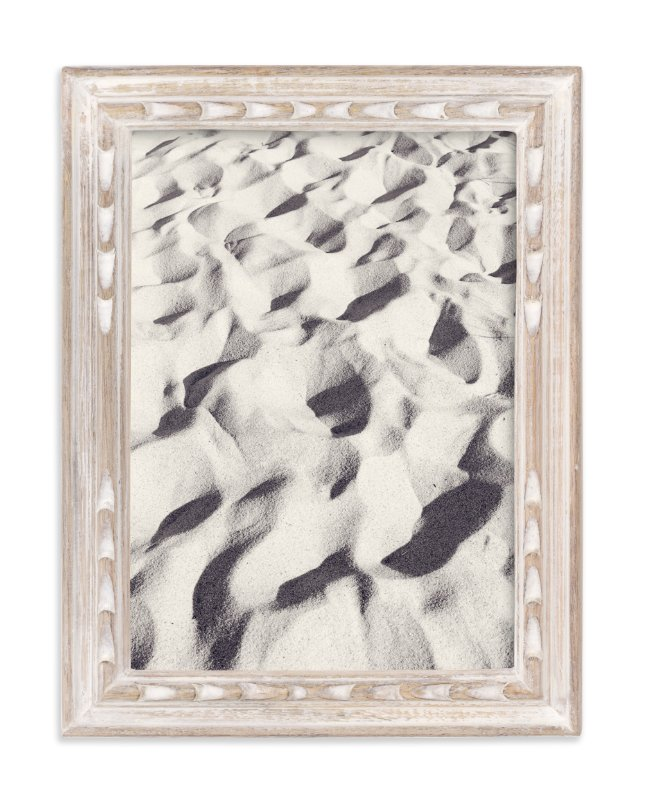 """""""Sand Wave"""" - Limited Edition Art Print by Qing Ji in beautiful frame options and a variety of sizes."""