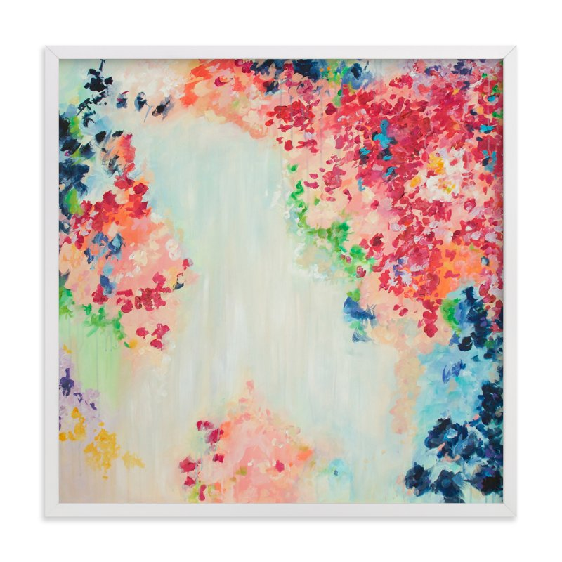 """Confetti"" - Limited Edition Art Print by Blair Culwell Staky in beautiful frame options and a variety of sizes."