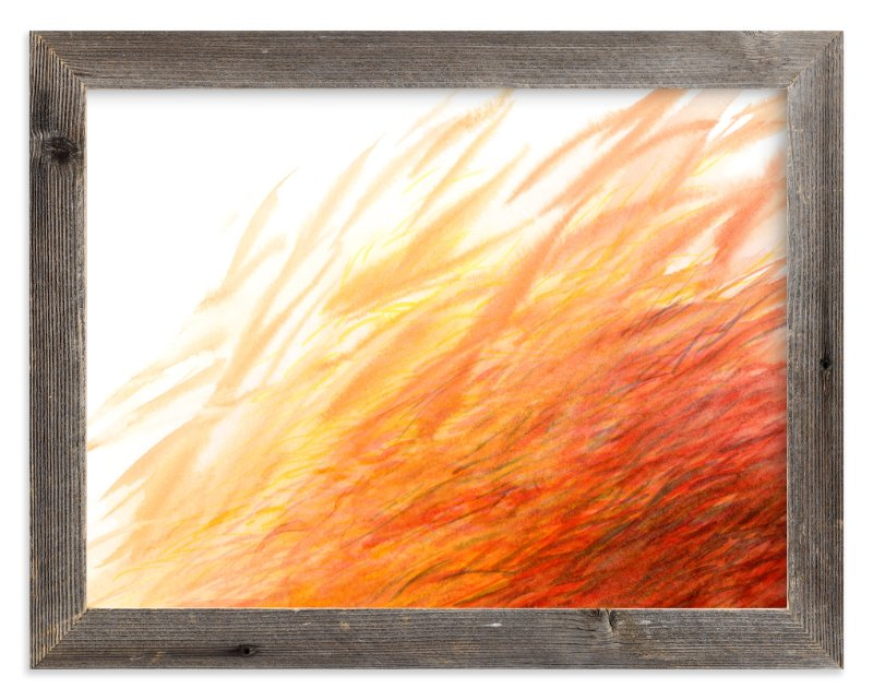 """""""Blaze"""" - Limited Edition Art Print by Cathy Moynihan in beautiful frame options and a variety of sizes."""