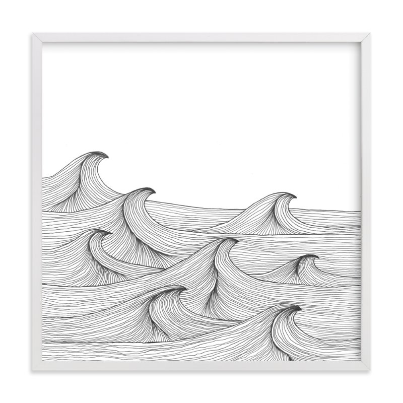 """drift"" - Limited Edition Art Print by Naomi Ernest in beautiful frame options and a variety of sizes."