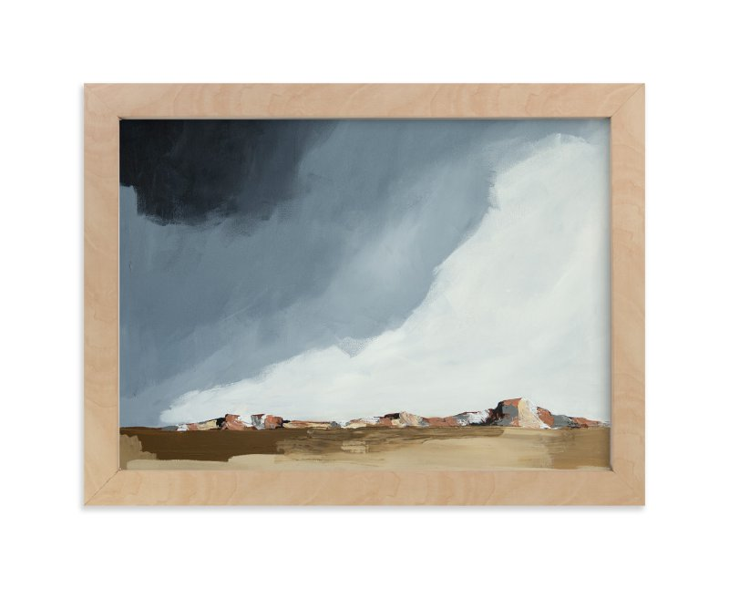 """""""Dusk In The Chisos"""" - Limited Edition Art Print by Kati Ramer in beautiful frame options and a variety of sizes."""