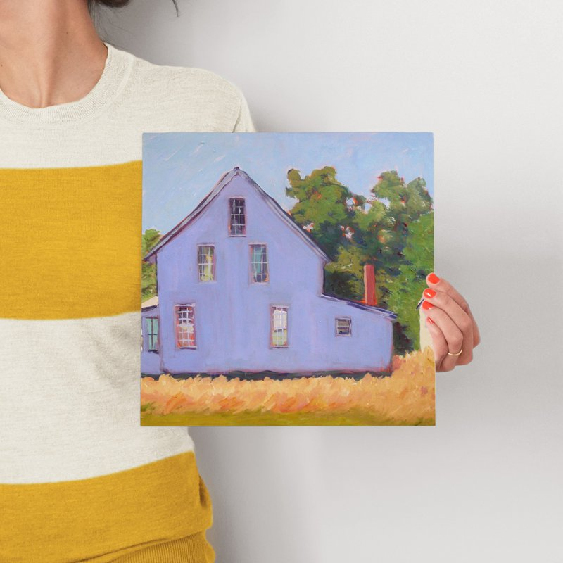 Corner Farm House Wall Art Prints By Carol C Young Minted