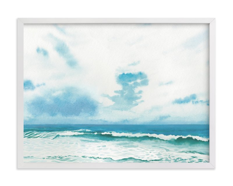 """""""Meet you there"""" - Limited Edition Art Print by Ali Kurzeja in beautiful frame options and a variety of sizes."""