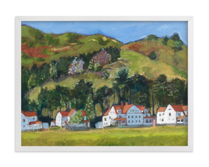 Fort Baker, Marin Headlands Art Print